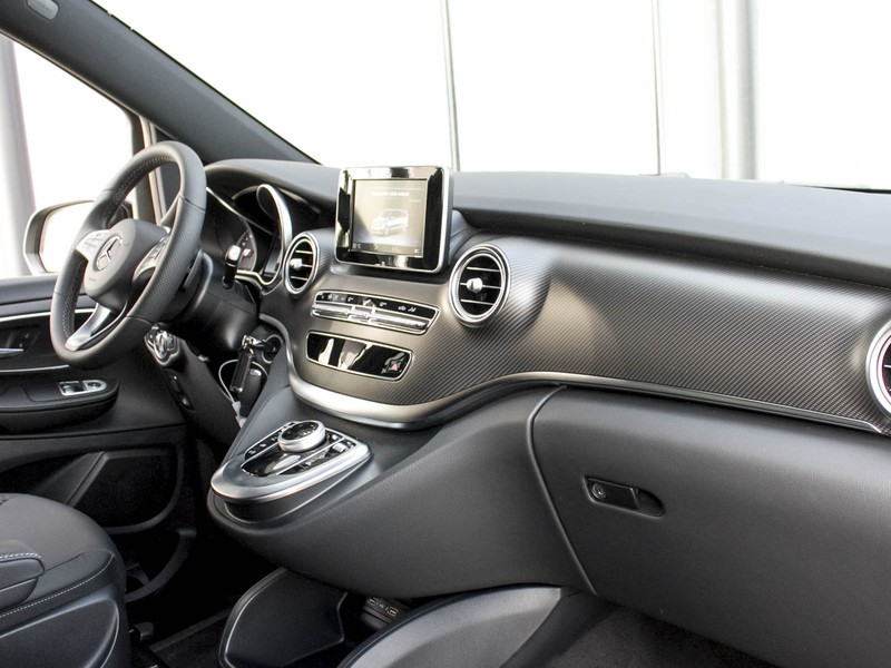 Mercedes Classe V 220 d Sport Extra Long diesel nero