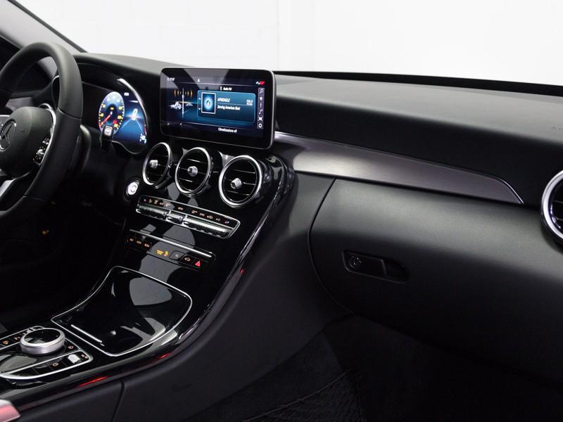 Mercedes Classe C SW sw 220 d sport plus 4matic auto diesel bianco