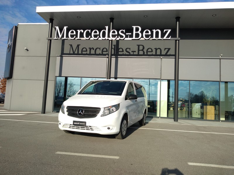 Mercedes Vito 116 cdi long mixto e5b+ diesel bianco