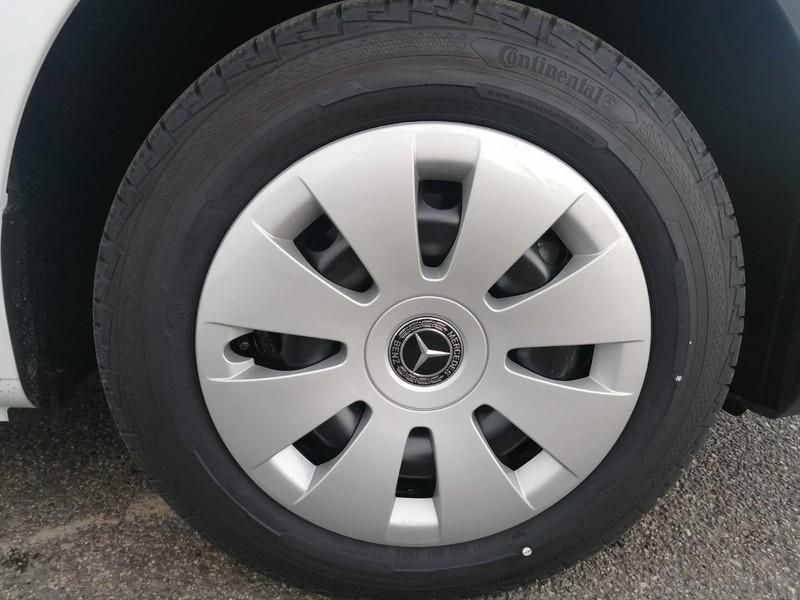 Mercedes Vito 110 cdi long my20 diesel bianco