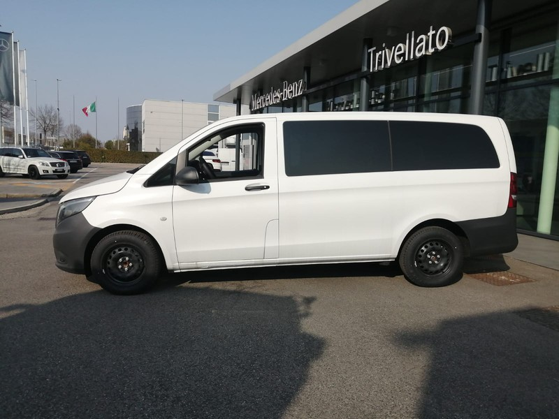 Mercedes Vito 116 CDI Mixto Long diesel bianco