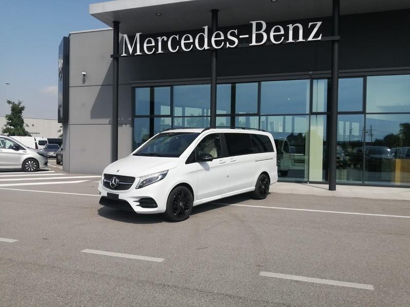 Mercedes Classe V long 250 d sport auto diesel bianco