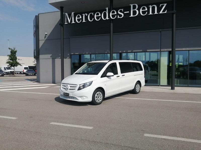 Mercedes Vito 114 cdi(bluetec) long tourer pro auto e6 diesel bianco