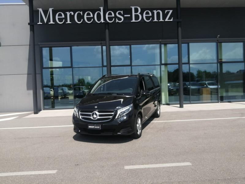 Mercedes Classe V 220 d sport l auto e6 diesel nero