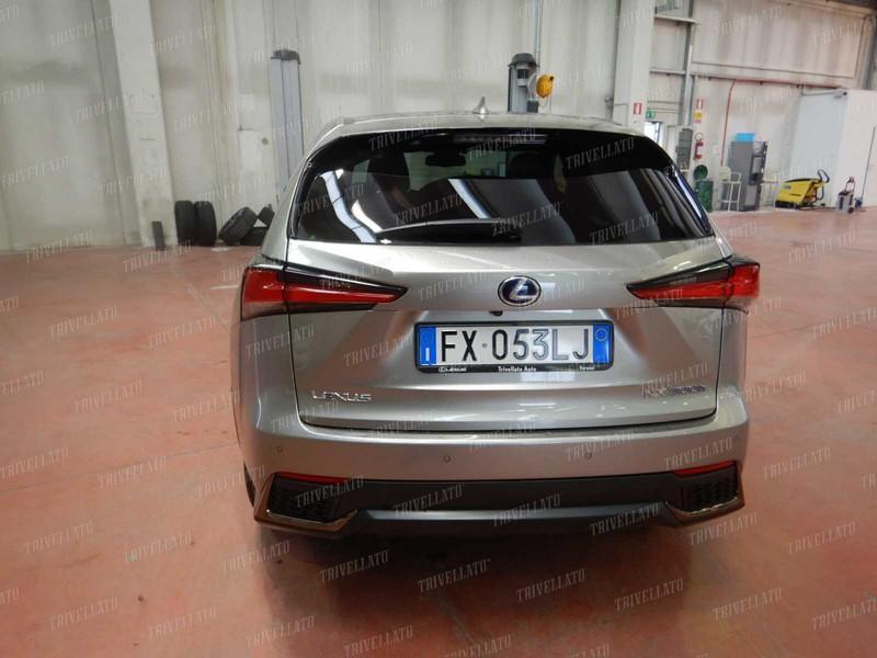 Lexus NX 300h 2.5 f sport 4wd cvt ibrido grigio