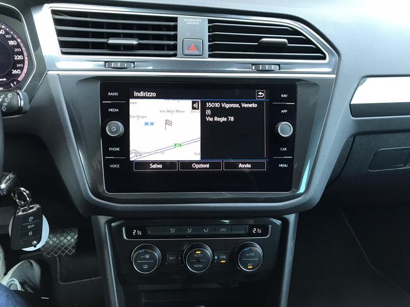 Volkswagen Tiguan 2.0 tdi advanced r-line exterior pack 150cv dsg diesel nero