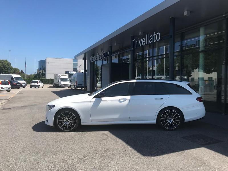 Mercedes Classe E SW 400 d premium plus auto diesel bianco