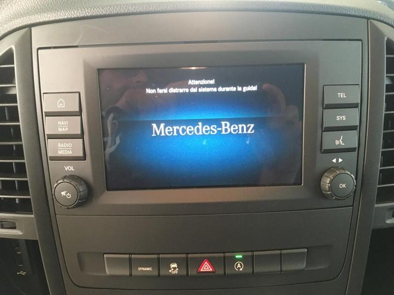 Mercedes Vito 119 cdi long mixto auto my20 diesel blu/azzurro