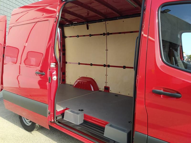 Mercedes Sprinter 316 cdi f 37/35 rwd e6 diesel rosso