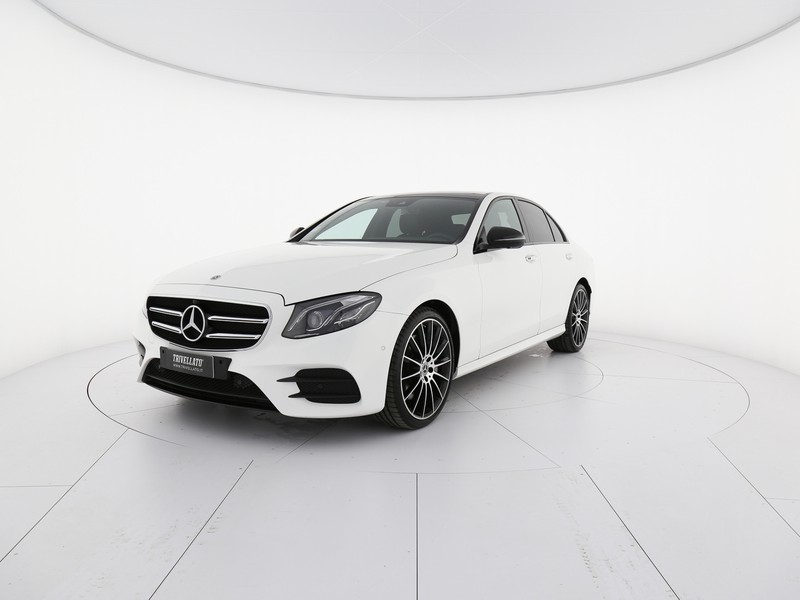Mercedes Classe E Berlina 350 eq-boost premium auto 299cv ibrido bianco