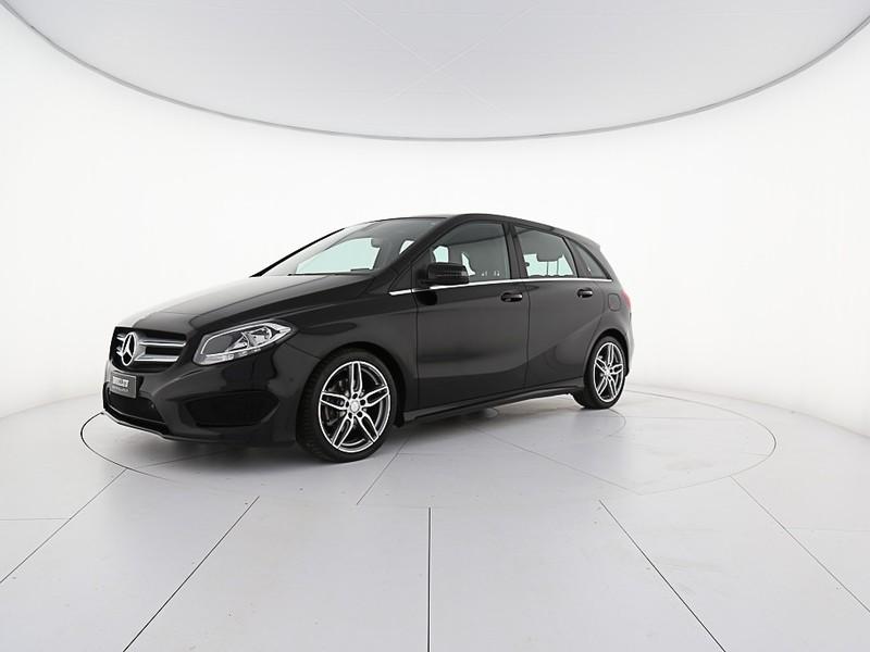 Mercedes Classe B 180 d (cdi) premium auto fl e6 diesel nero