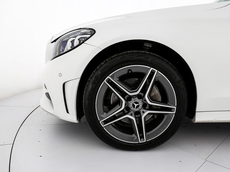 Mercedes Classe C SW sw 220 d premium 4matic auto diesel bianco