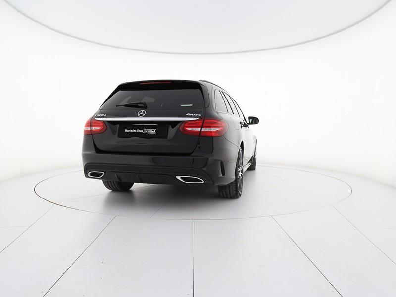 Mercedes Classe C SW sw 220 d premium 4matic auto 9m diesel nero