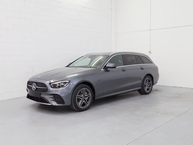 Mercedes Classe E SW sw 300 de plug in hybrid (de eq-power) premium 4matic auto my20 ibrido argento