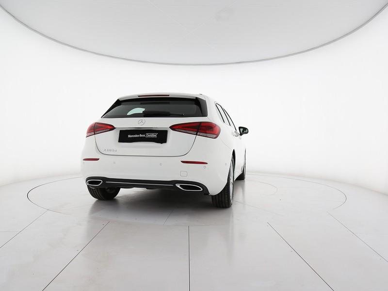 Mercedes Classe A 180 d sport extra diesel bianco