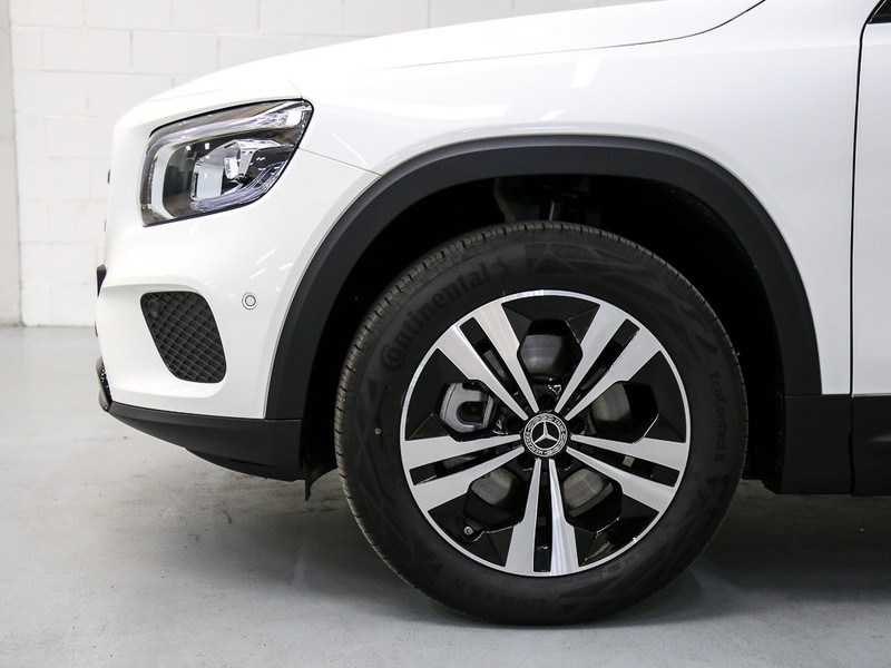 Mercedes GLB 200 d sport plus auto diesel bianco