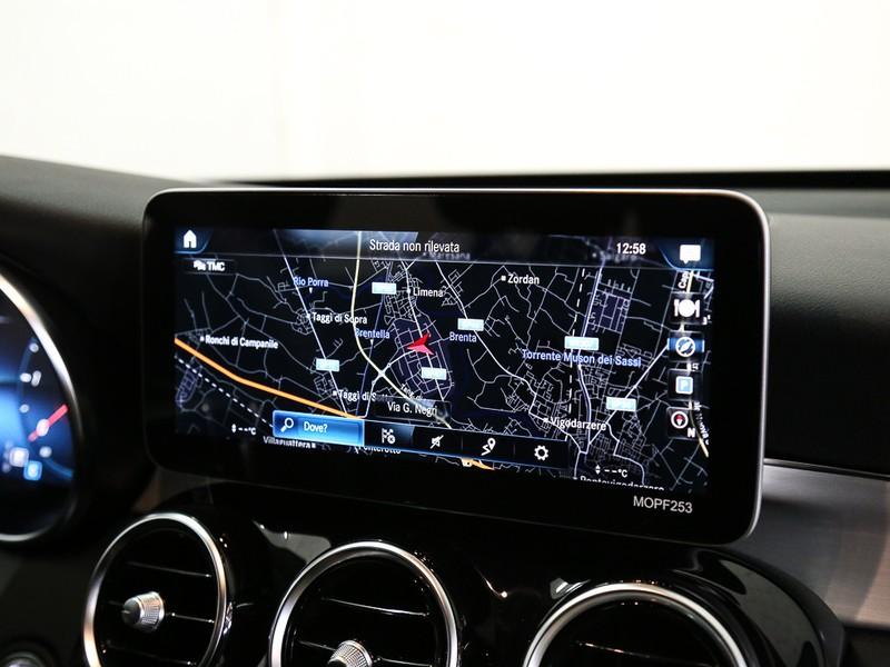 Mercedes GLC 200 d premium 4matic auto diesel bianco