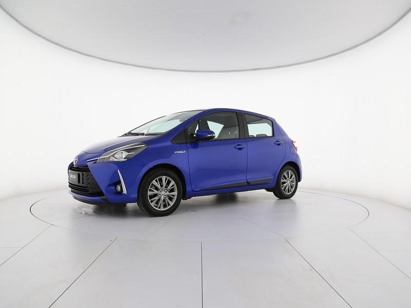Toyota Yaris 5p 1.5 hybrid active ibrido blu/azzurro