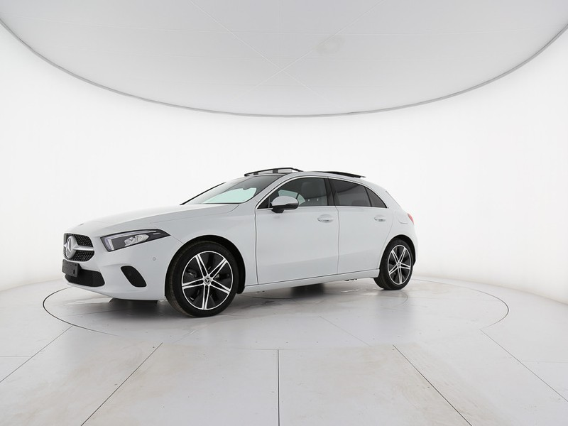 Mercedes Classe A 220 d sport auto diesel bianco