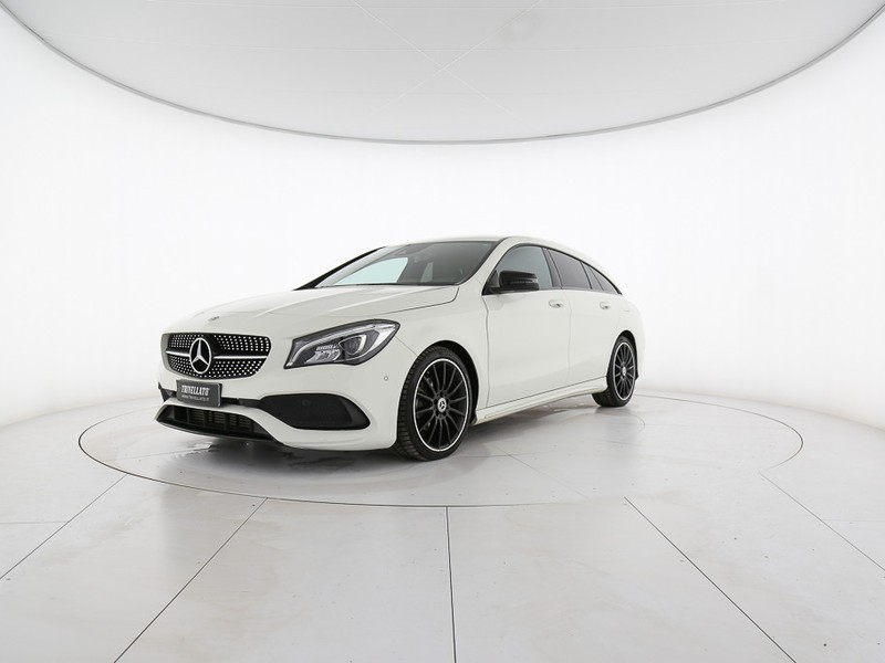 Mercedes CLA Shooting Brake  200 d premium 4matic auto fl diesel bianco