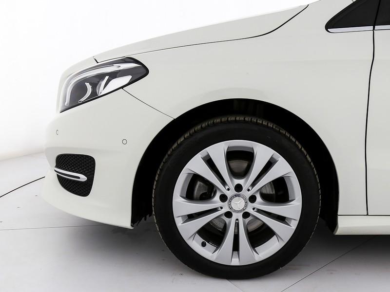 Mercedes Classe B 200 d (cdi) sport auto diesel bianco