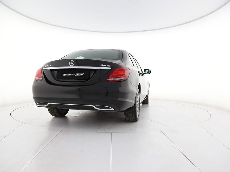 Mercedes Classe C Berlina 220 d sport 4matic auto 9m