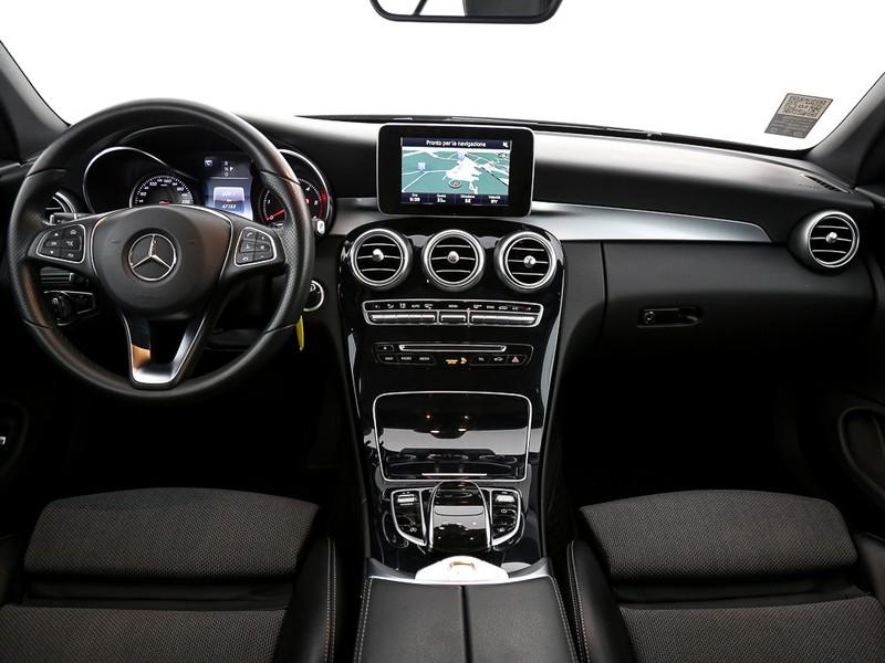 Mercedes Classe C Cabrio cabrio 220 d sport 4matic auto diesel argento