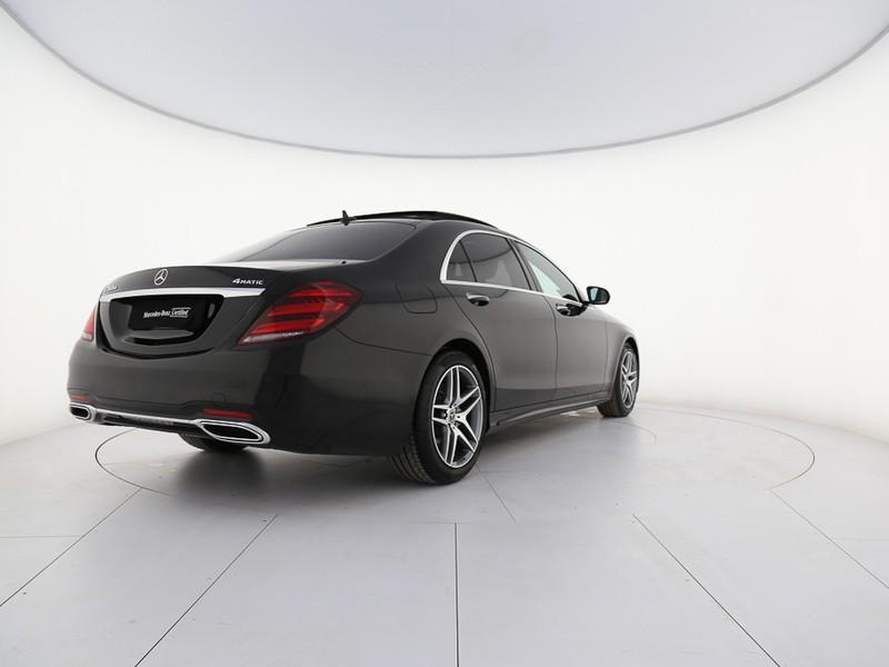 Mercedes Classe S Berlina 350 d premium plus 4matic lunga auto diesel nero
