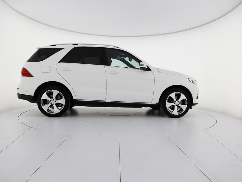 Mercedes GLE gle 250 d sport 4matic auto diesel bianco