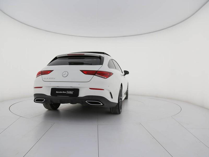 Mercedes CLA Coupè coupe 200 d premium auto diesel bianco