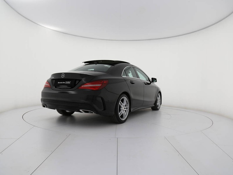 Mercedes CLA Coupè 220 d premium auto fl diesel nero