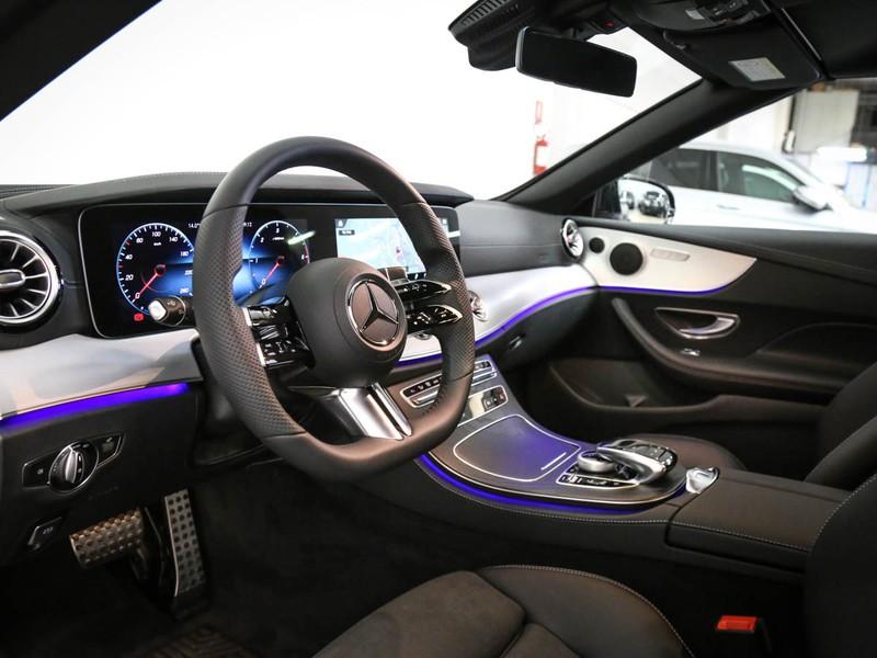 Mercedes Classe E Cabrio cabrio 220 d premium 4matic auto diesel nero