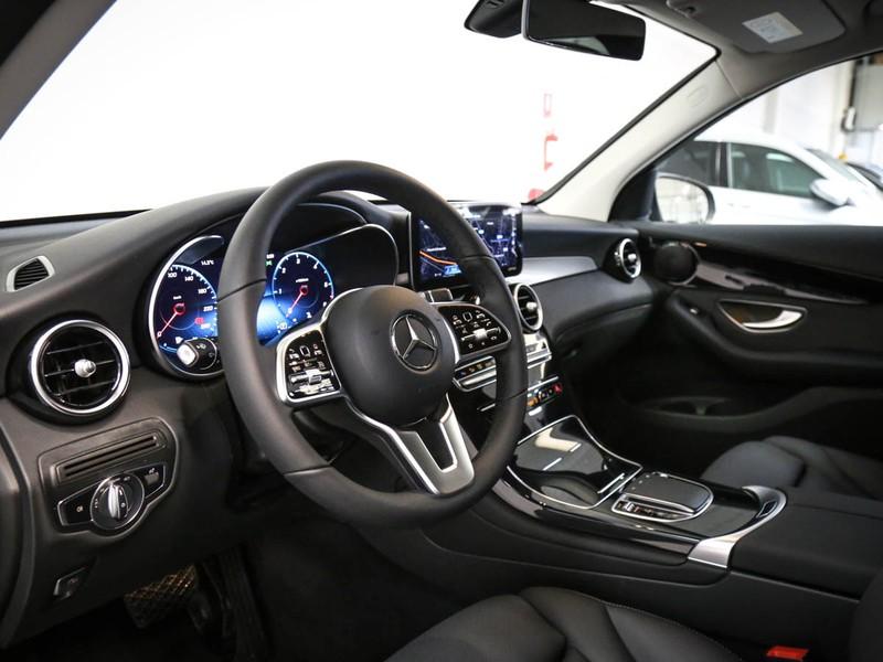 Mercedes GLC 200 d sport 4matic auto diesel argento