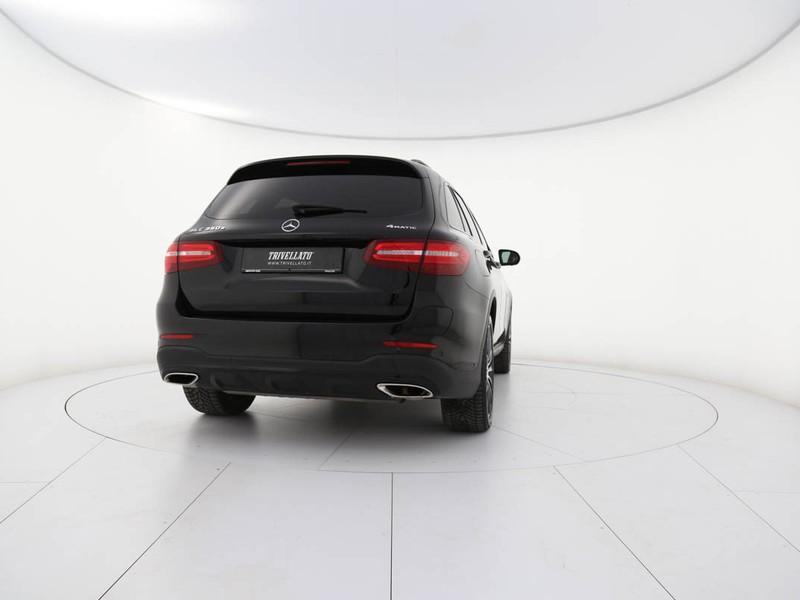 Mercedes GLC 350e premium 4matic auto ibrido nero