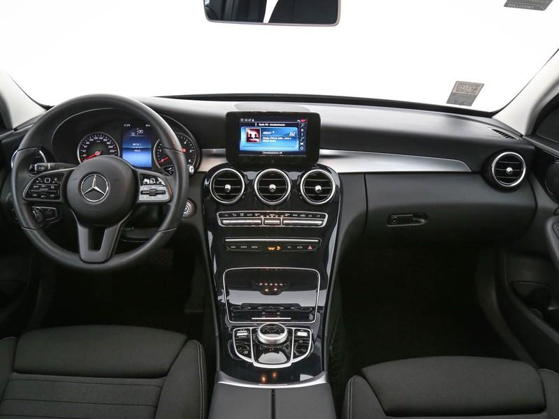 Mercedes Classe C Berlina 180 d sport auto diesel grigio