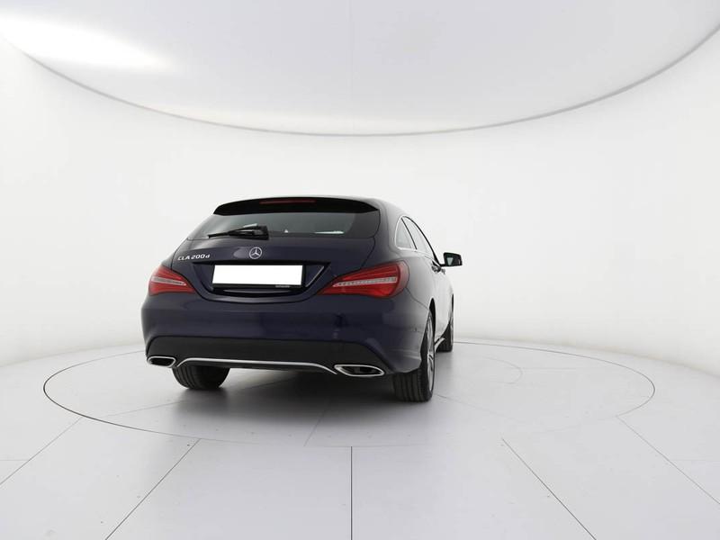 Mercedes CLA Shooting Brake  200 d sport auto fl diesel blu/azzurro