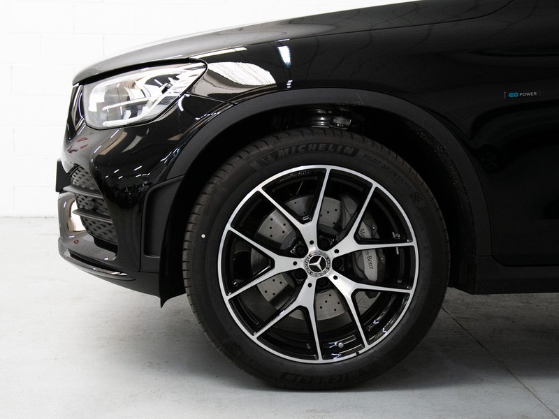 Mercedes GLC 300 de eq-power premium 4matic auto ibrido nero