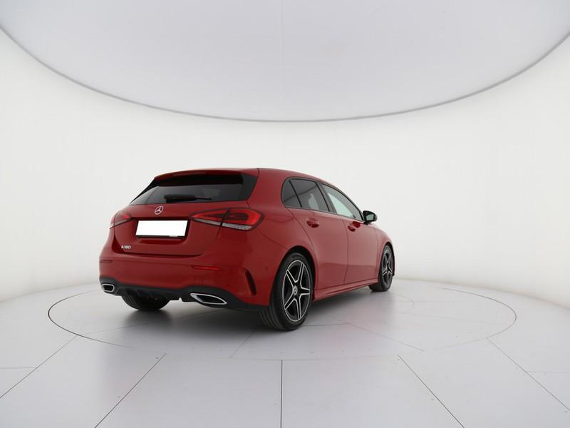 Mercedes Classe A 180 Automatic Premium benzina rosso