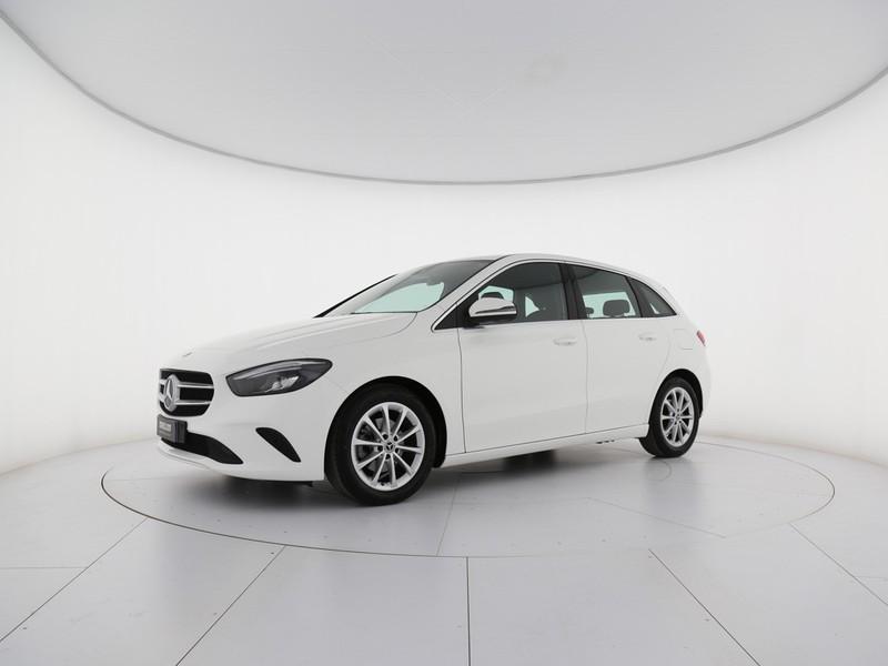 Mercedes Classe B 180 d sport plus auto diesel bianco