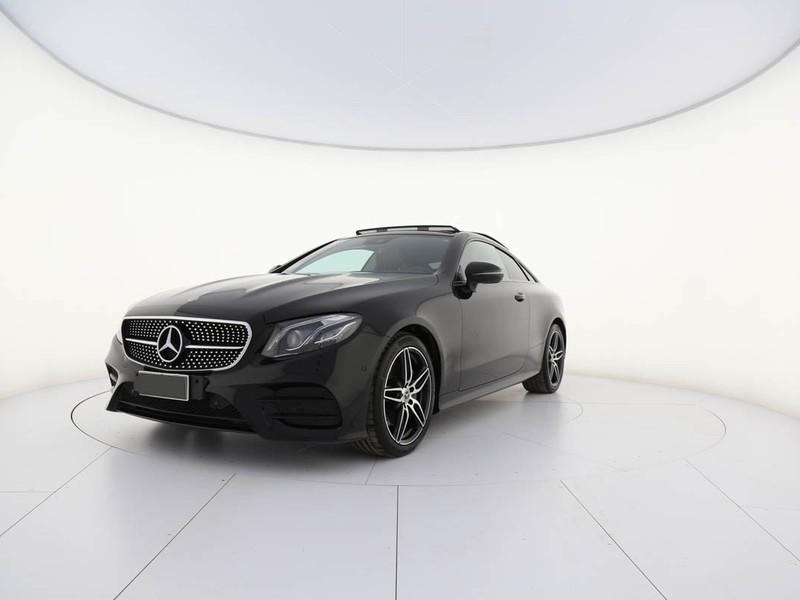 Mercedes Classe E Coupè coupe 220 d amg line 4matic auto diesel nero