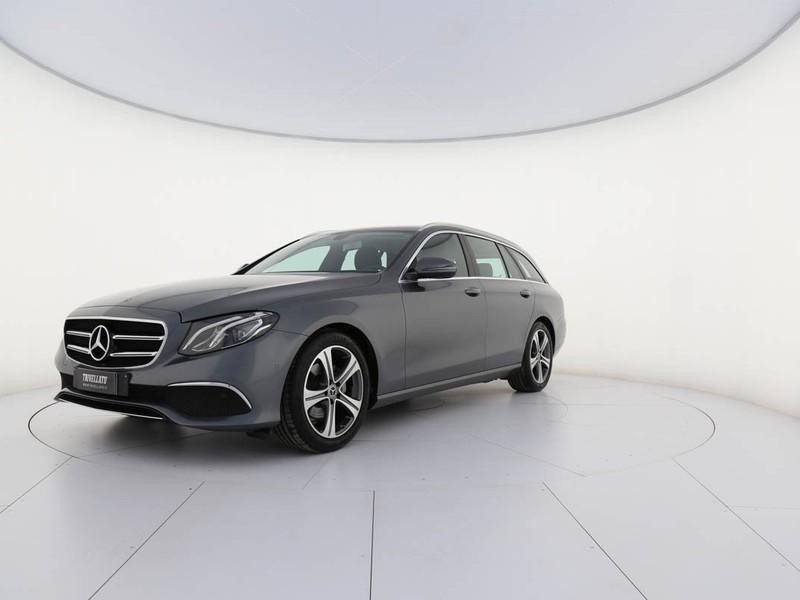Mercedes Classe E SW sw 200 d business sport auto my20 diesel grigio