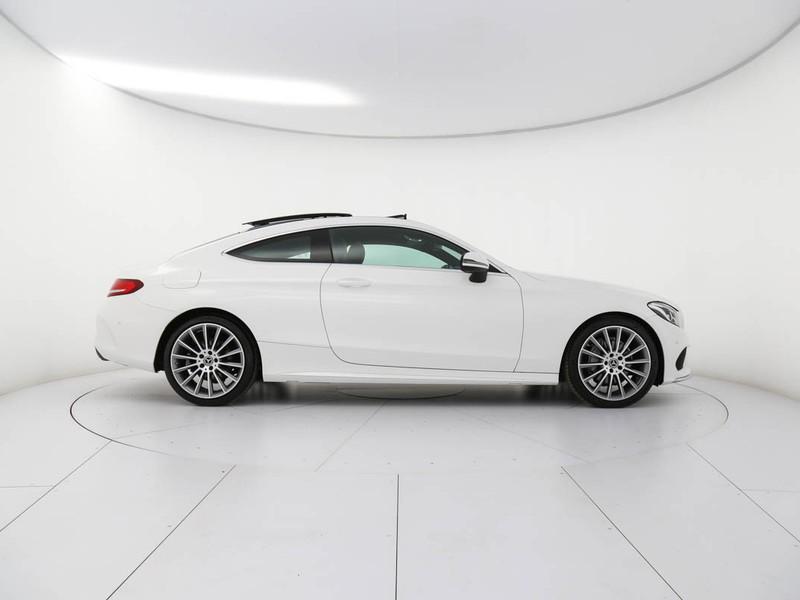 Mercedes Classe C Coupè coupe 220 d premium auto diesel bianco