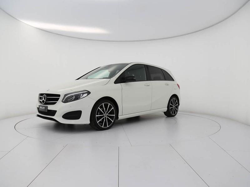 Mercedes Classe B 180 d (cdi) sport auto diesel bianco
