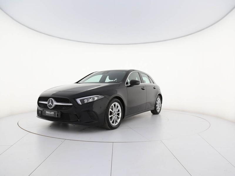 Mercedes Classe A 180 d sport auto diesel nero