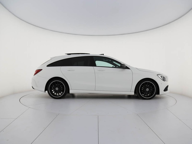 Mercedes CLA Shooting Brake  200 d premium auto fl diesel bianco
