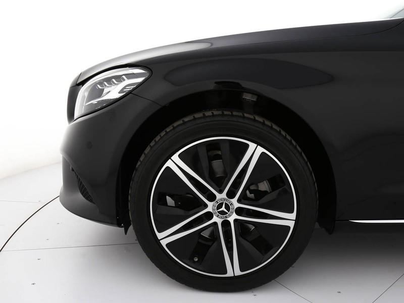 Mercedes Classe C SW sw 220 d sport plus 4matic auto diesel nero