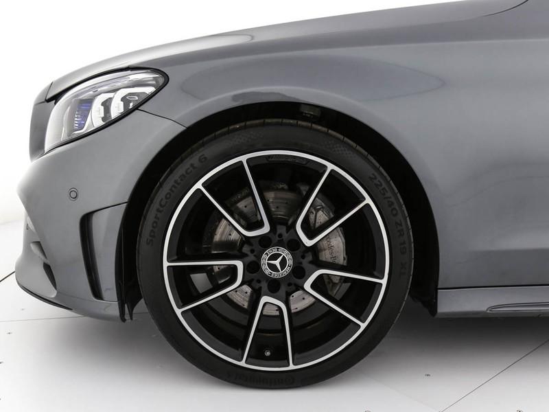 Mercedes Classe C SW sw 220 d premium auto diesel grigio