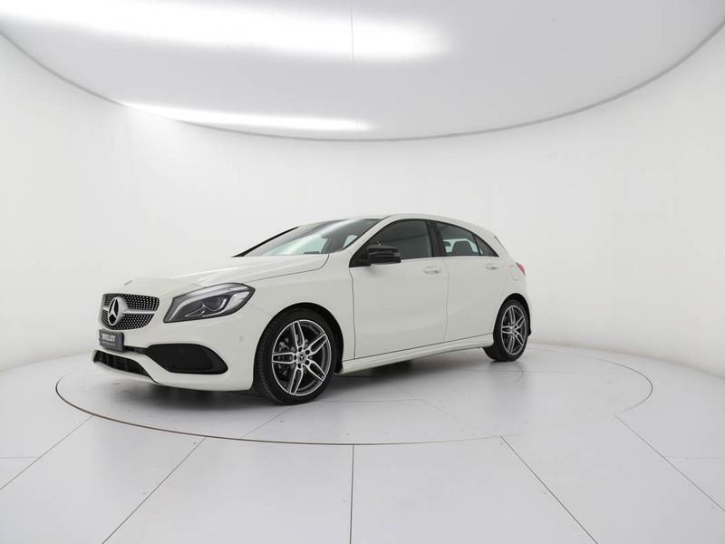 Mercedes Classe A 180 d premium auto my16 diesel bianco