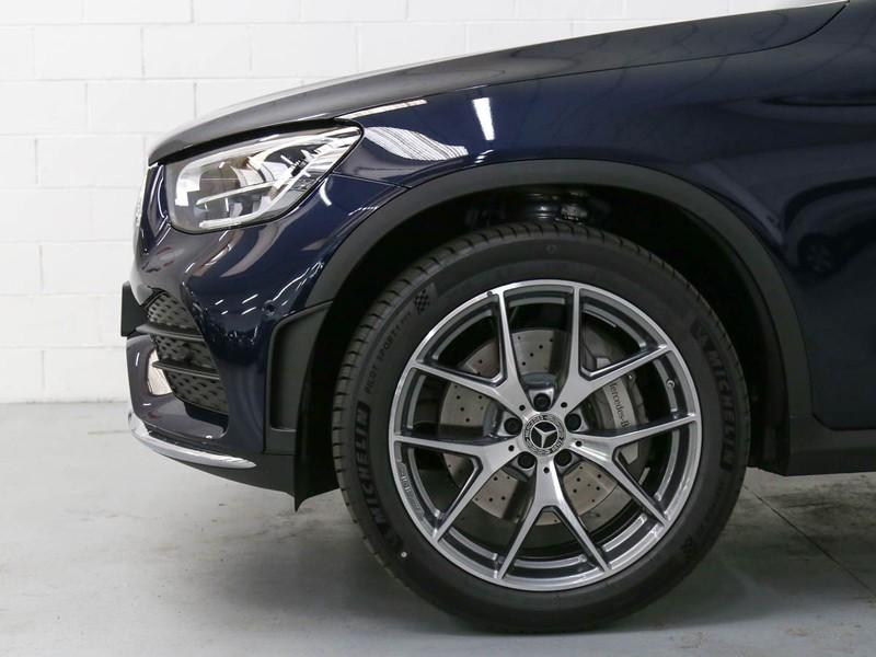 Mercedes GLC 220 d premium 4matic auto diesel blu/azzurro
