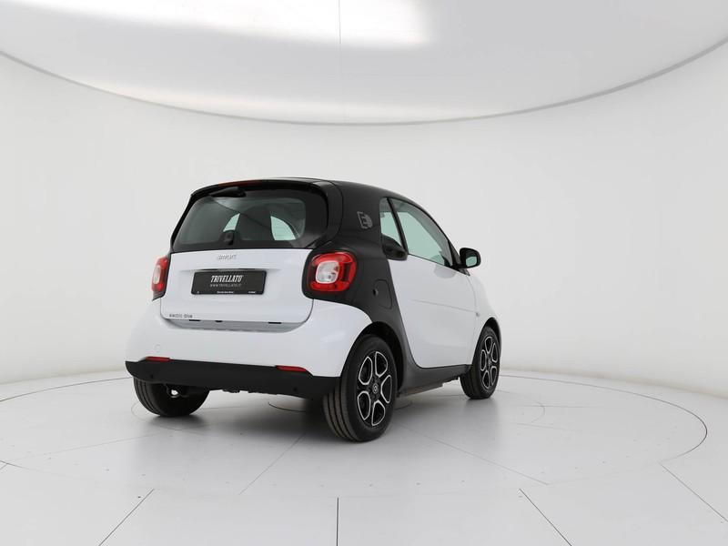 Smart Fortwo electric drive passion elettrica bianco